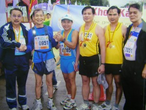 Singapore's Oldest Marathon Runner Mr Chan Meng Hui